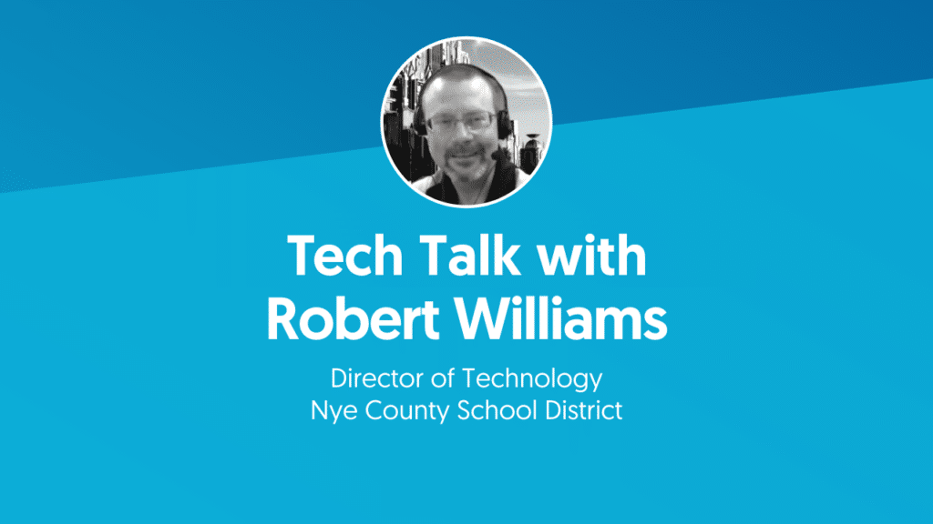 Robert Williams Nye County School District headshot met titel